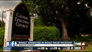 North Carolina Episcopal priest charged in Florida road rage