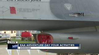 Spending time with the F-16 Crew at EAA AirVenture