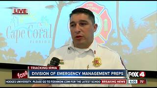Cape EOC prepares for Hurricane Irma - Video