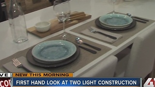 First hand look at Two Light construction - Video