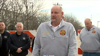 KNWA: Bentonville press conference on plant fire