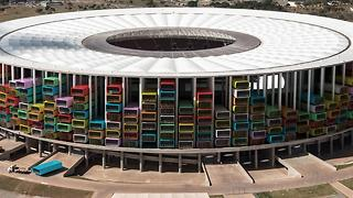 Empty Olympic Stadiums Could Provide Shelter To Thousands - Video