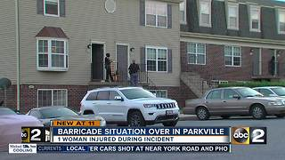 Home invasion leads to Parkville barricade - Video