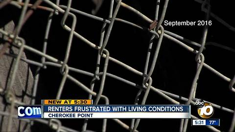 Renters frustrated with living conditions
