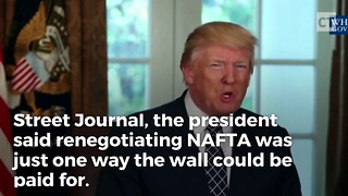 How President Trump Will Get Mexico to Pay for the Wall - Video