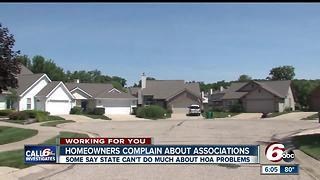 CALL 6: Homeowners say state can't do enough about HOAs - Video