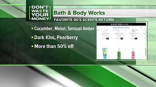 A blast from the past at Bath & Body Works - Video