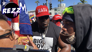 Americans UNITE Against BLM Terrorists At Beverly Hills FREEDOM Rally