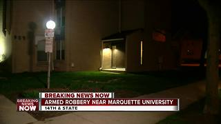 Marquette University police seek 2 suspects who robbed man near campus