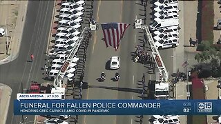 Phoenix PD Commander Greg Carnicle honored after line of duty death