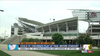 Could FC Cincinnati play at Paul Brown Stadium? - Video