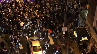 Eagles Fans Roar in Streets of Philadelphia - Video