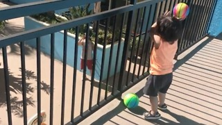 This Toddler Nails His Basketball Trick Shot Like A Pro