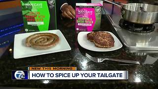 Man Cave Craft Eats spices up your tailgating experience - Video