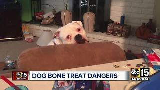 FDA issues warning that some dog bone treats could be deadly - Video