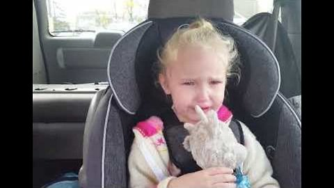 Little Girl Is Upset She Did Not Get Her Flu Vaccine