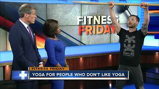 Fitness Friday: Getting comfortable with yoga - Video