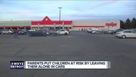 Sterling Heights police report two incidents of children left in cars