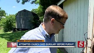 Pastor Sees Pursuit Suspects After Attempted Burglary - Video