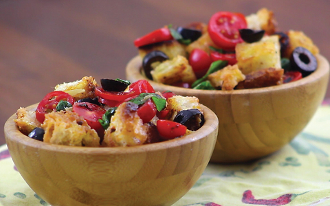 Italian bruschetta: try this delicious version... in a bowl