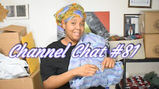 Channel Chat 81: Wips, Catching Up, & a Giant Yarn Haul