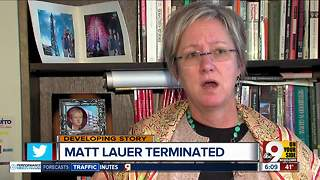 Matt Lauer terminated - Video