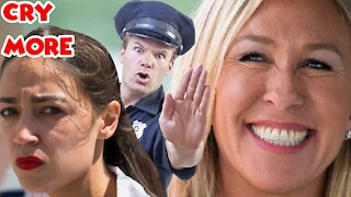 AOC Calls The Police She Wants Defunded When Republican Confronts Her