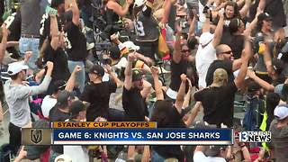 Golden Knights advance to Western Conference Finals