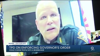 TPD warns of consequences for violation of local, state emergency orders amid pandemic