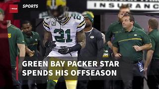 Green Bay Packer Star Spends His Offseason Working Humble, Unpaid Job - Video