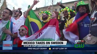 Local restaurant, bar organizes watch party for Mexico World Cup game - Video