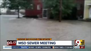 Community activists push Hamilton County commissioners for solutions to sewer backup issues - Video