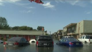 Rescue, flooding video from Port Arthur, Texas
