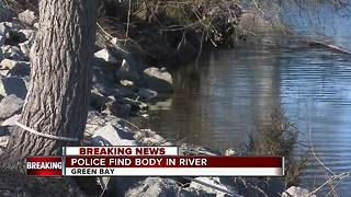Green Bay Police recover person from East River - Video