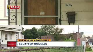'People are scared': Squatters living in an abandoned CLE house are creating problems for residents