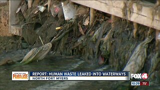 Study shows failed septic tanks polluting water