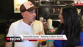 Impossible Burger debuting in metro Detroit - Video