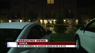 Stabbing reported outside of Utica condo