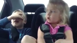 Mean toddler wants to throw brother out the window - Video
