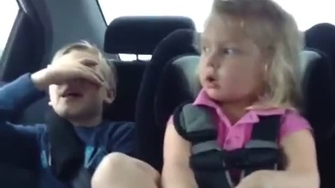 Mean toddler wants to throw brother out the window