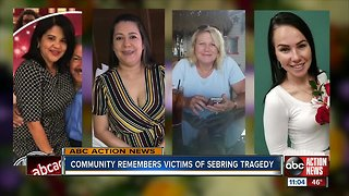 Sebring vigil for shooting victims - Video