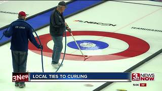 Baxter Arena getting ready for curlers - Video