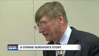 Stroke survivor shares his story
