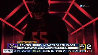 """""""Darth Sizzle"""" ready for the new Star Wars film - Video"""