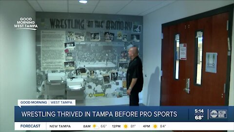 Wrestling thrived in Tampa before pro sports