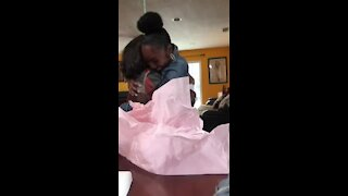 Mom surprised on Mother's Day with twins pregnancy announcement
