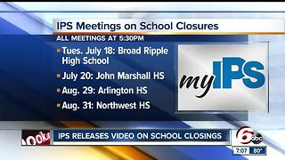 IPS releases video on school closings - Video