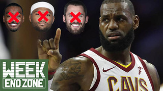 Is LeBron James' 2018 All-Star Team CURSED? -WeekEnd Zone - Video