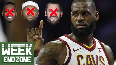 Is LeBron James' 2018 All-Star Team CURSED? -WeekEnd Zone