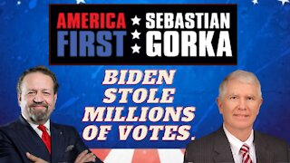 Biden stole millions of votes. Rep. Mo Brooks with Sebastian Gorka on AMERICA First